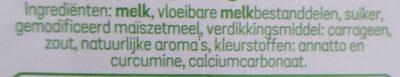 Ula vanille - Ingrediënten - nl