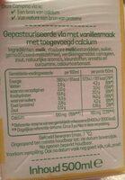 Ula vanille - Voedingswaarden - fr