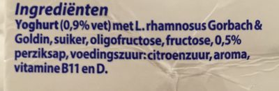 Vifit Vitam Dr. Peach - Ingredients - nl