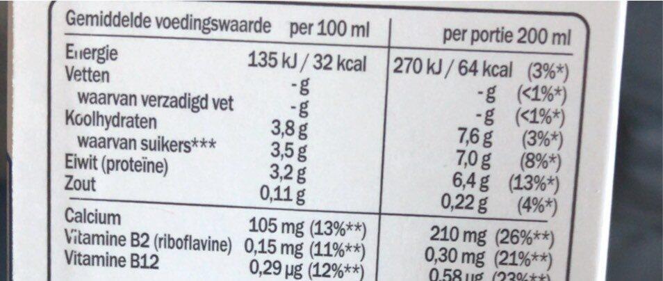 Mango Passionsfrucht Drink, Optimel - Nutrition facts - fr