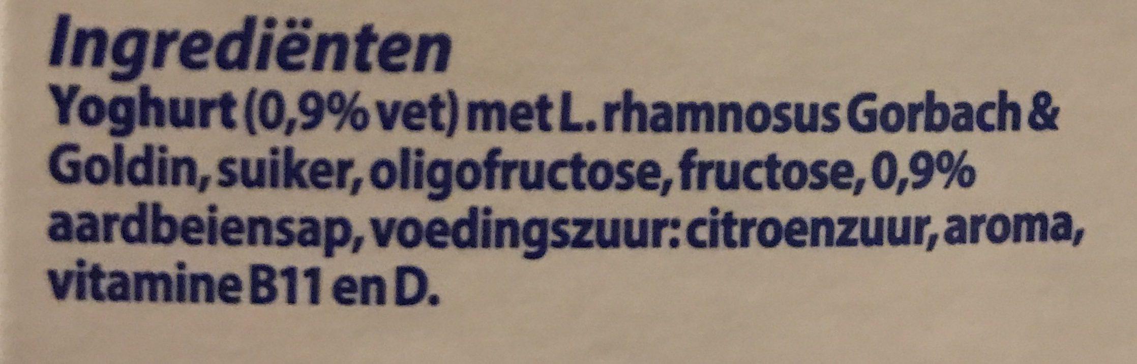 Drinkyoghurt Aardbei - Ingredients - nl
