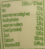 milde kwark magere - Nutrition facts - nl