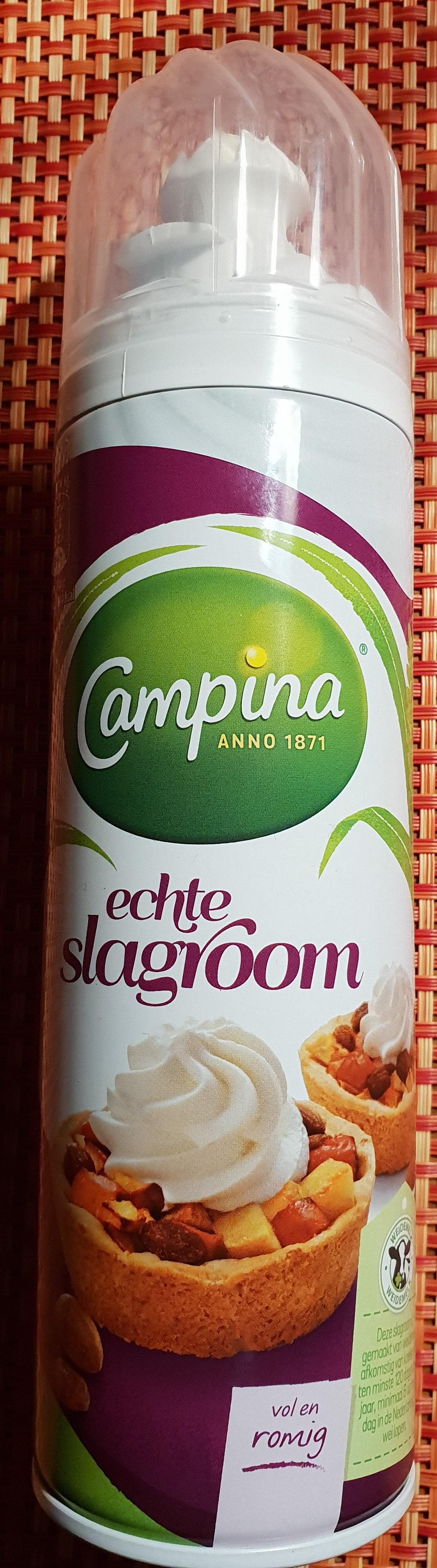 Campina Echte Slagroom - Produit