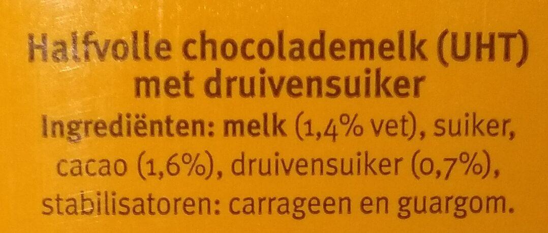 Chocomel halvol - Ingredients - nl