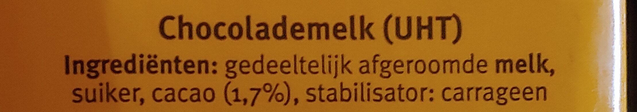 Chocomel - Ingrediënten - nl