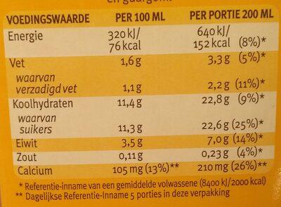 Chocomel Halfvol - Voedingswaarden - nl