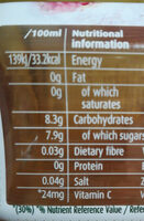 Aloe Vera Pomegranat 500Ml - Nutrition facts - it