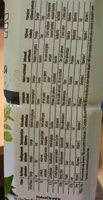 ALOE & GREEN TEA - Nutrition facts - fr