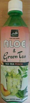 Aloe & Green Tea Ice Tea Peach - Prodotto - fr