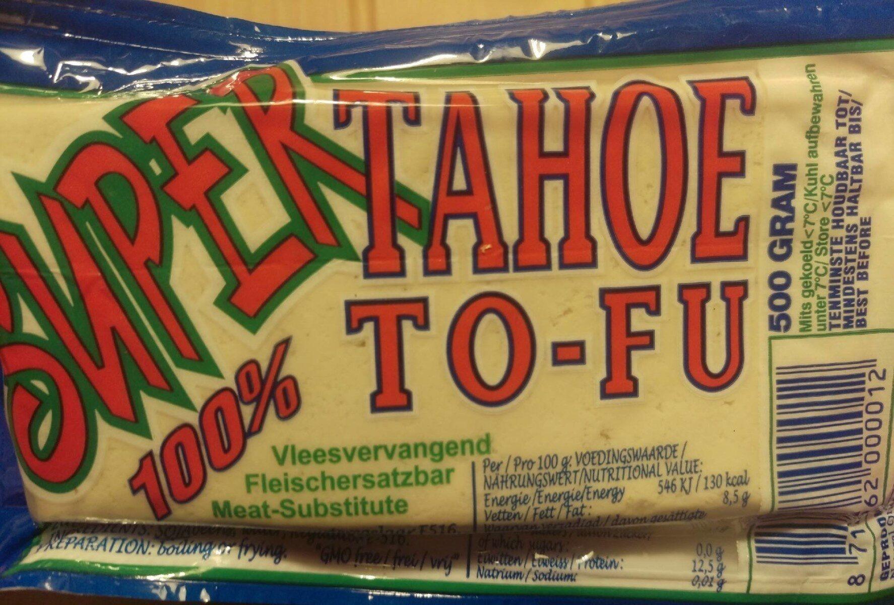 Super Tahoe Tofu - Prodotto - en