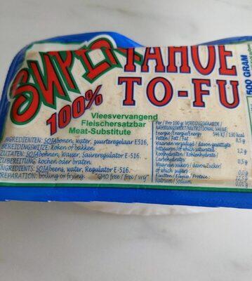 Super Tahoe Tofu - Valori nutrizionali - en