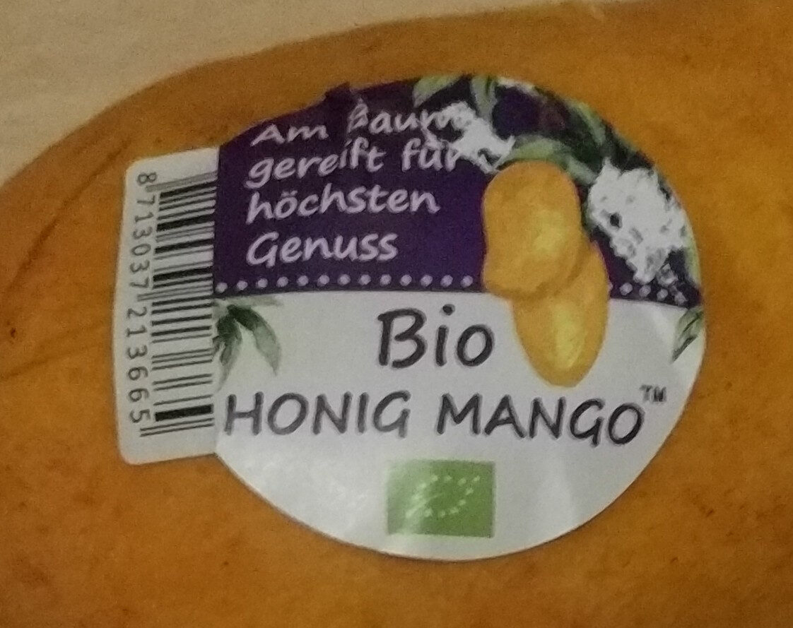 Bio Honig Mango - Ingrédients - de
