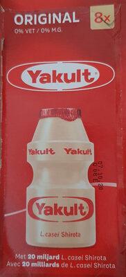 Yakult Original 0% vet - Product - nl