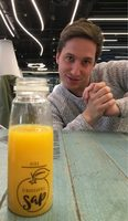 Vers sinaasappelsap mc donalds - Product