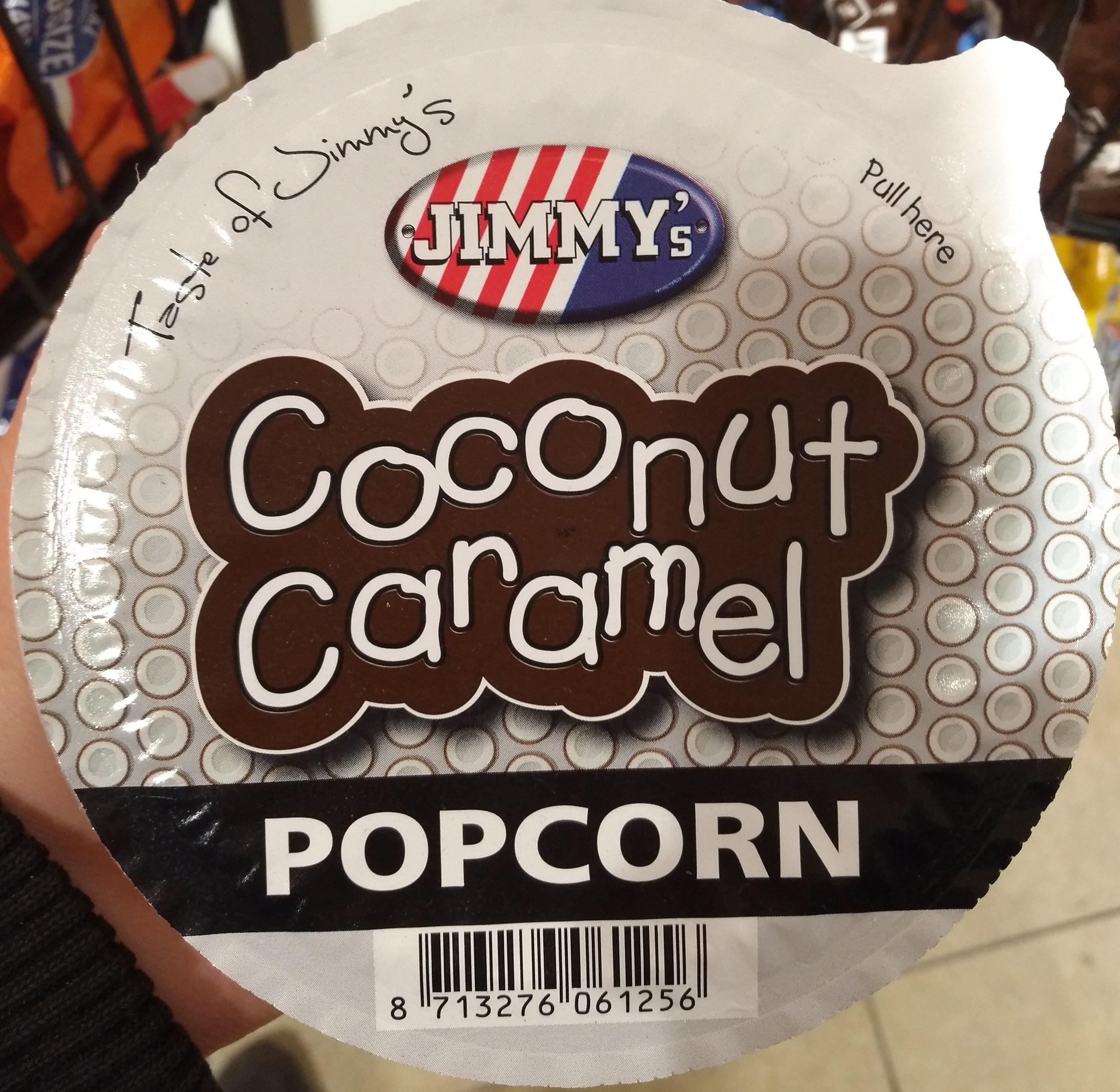 Coconut Caramel Popcorn - Product