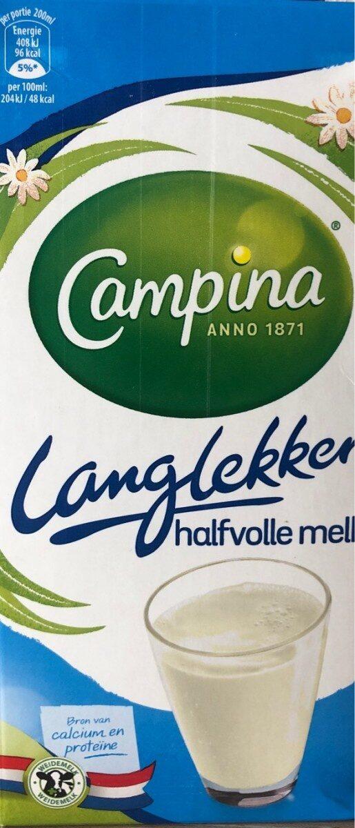 Semi-skimmed Milk Semi-skimmed Milk (uht) - Product - fr