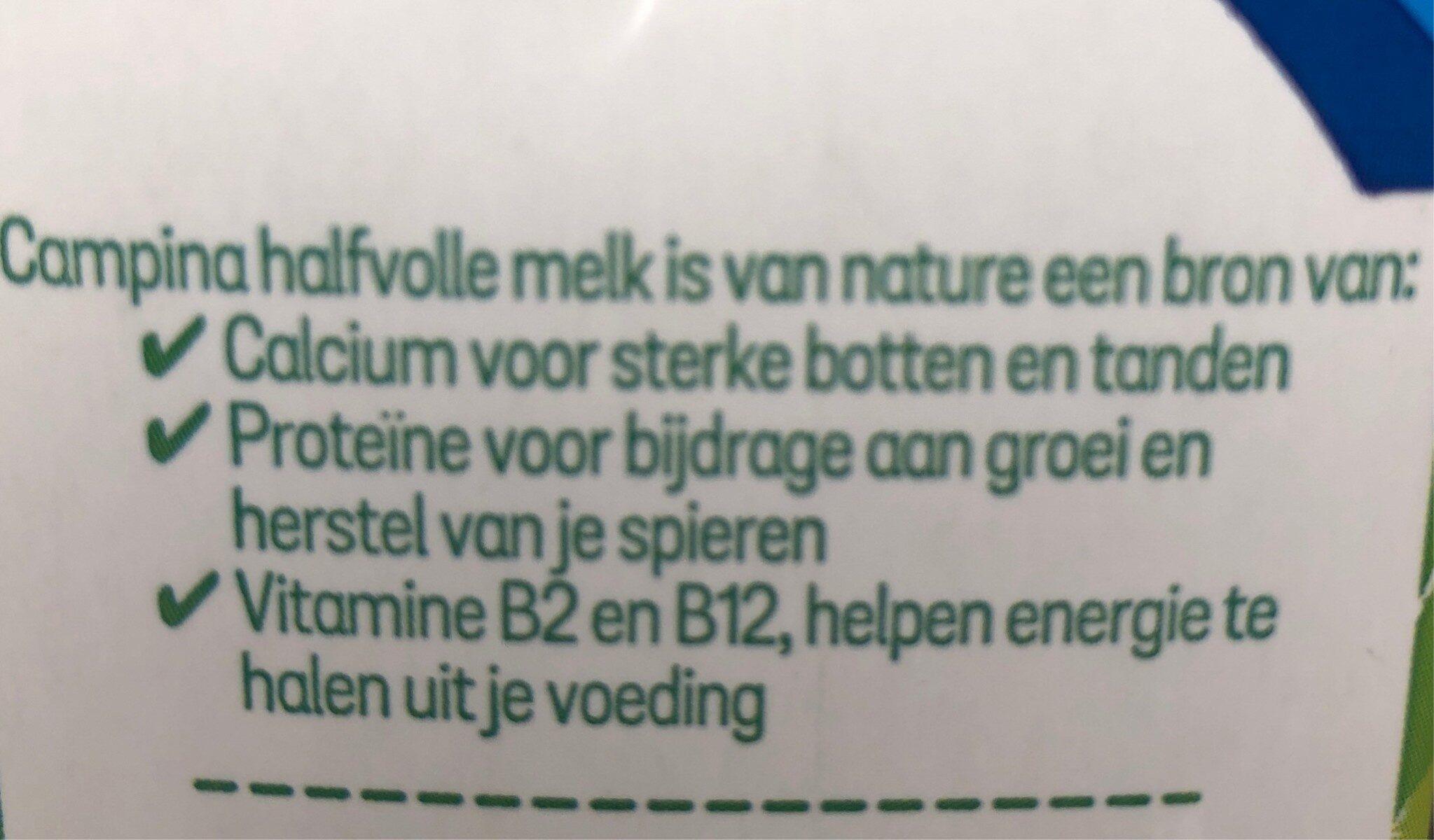 Semi-skimmed Milk Semi-skimmed Milk (uht) - Ingrediënten - fr