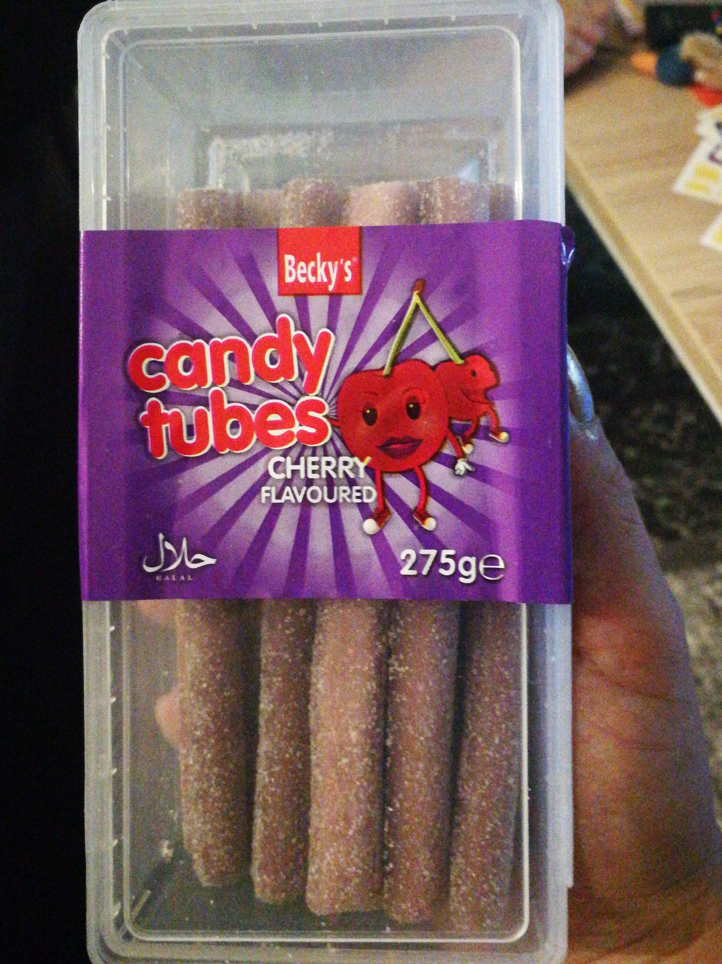 Candy tubes - Produit