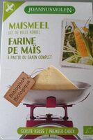 Farine de maïs à partir de grain complet - Voedingswaarden - nl