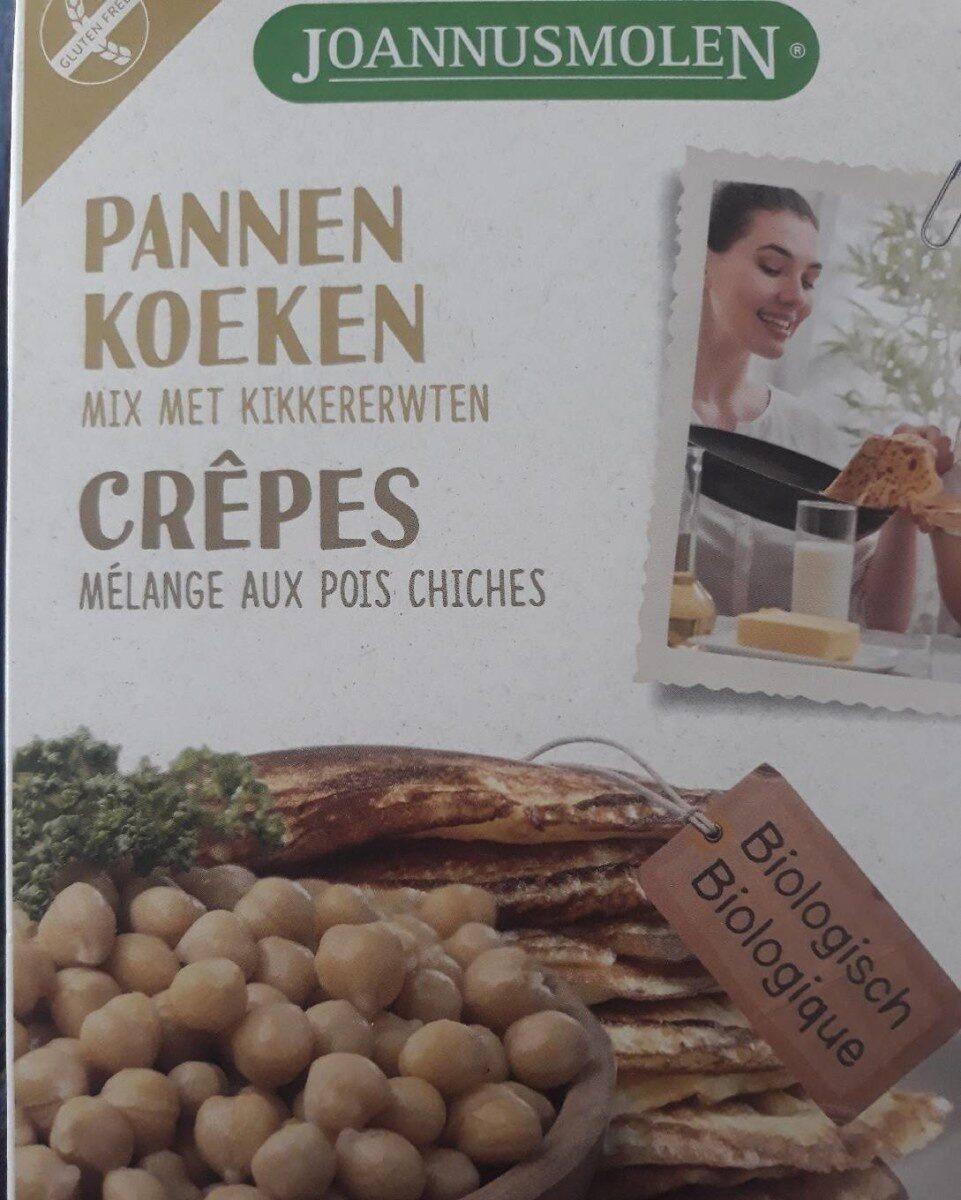 Crêpes - mélange aux pois chiches - Product - nl