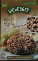 Bioburger Noisettes Amandes - Product - fr