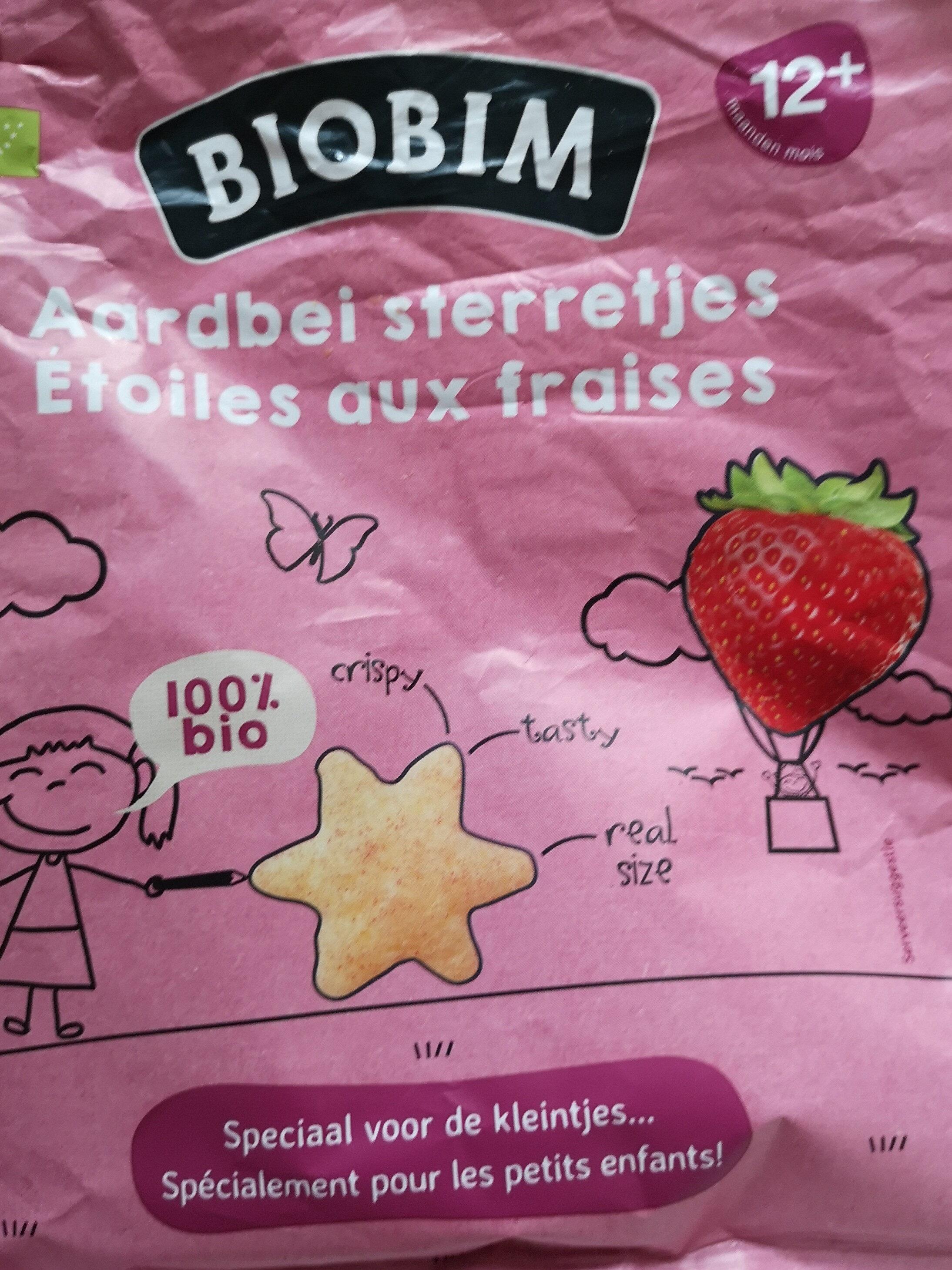 Etoiles aux fraises - Product - fr