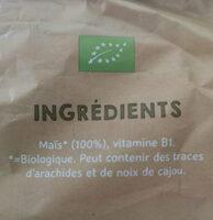 Naturel poppies - Ingredients - nl