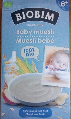 Muesli Bébé - Prodotto - fr