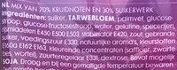 Strooigoed - Ingrediënten - nl