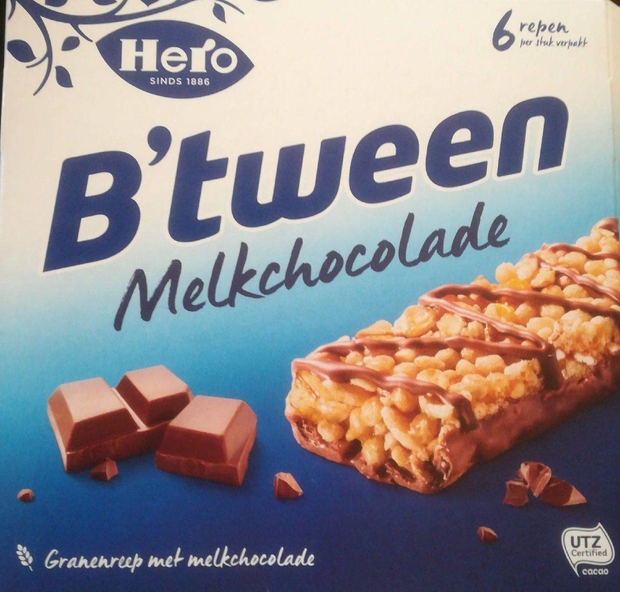 B'tween melkchocolade - Product - nl