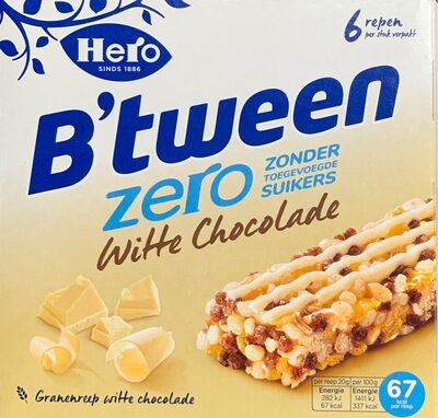 B'tween zero witte chocolade - Product - nl