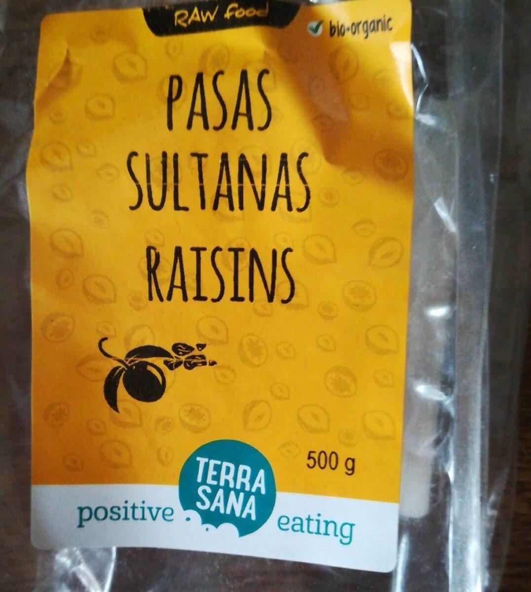 Pasas sultana raisins - Produit