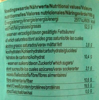 Mandelmus - Nutrition facts - de