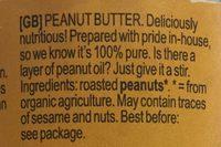 Peanut - Ingredients - en