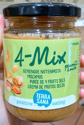 4-mix mixed nut butter - Product - fr
