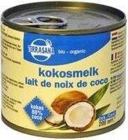 Terrasana leche de coco - Produkt - de