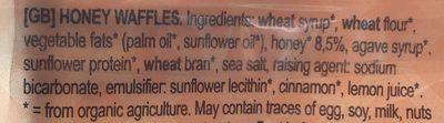 Gaufres au miel bio - 15