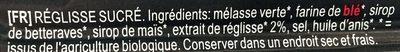 Cordon De Reglisse 60CM - Ingrédients - fr