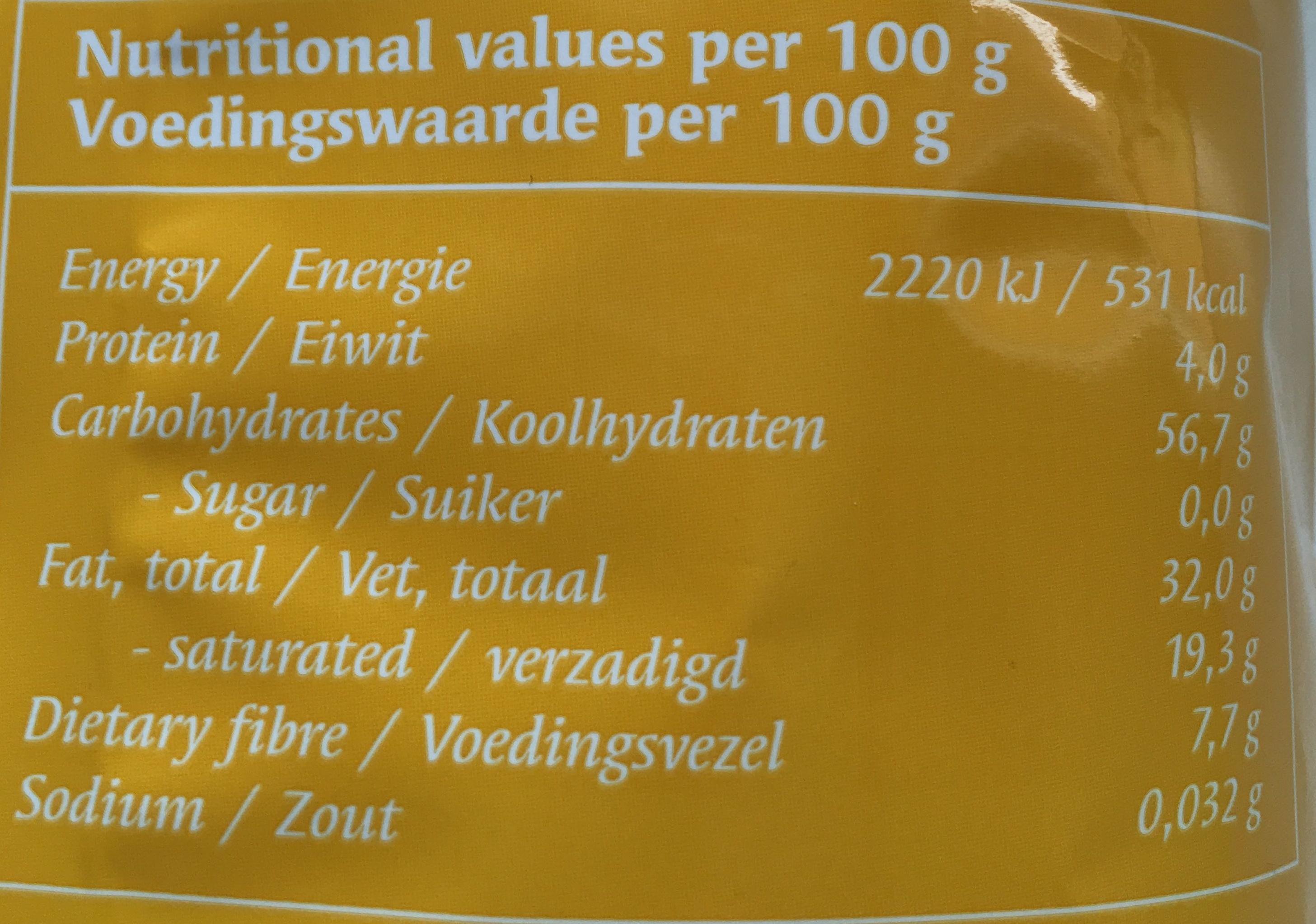 Il manque que la mayonnaise - Nutrition facts