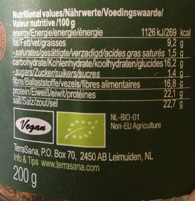 Miso Instant Soup - Ingrediënten