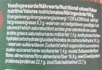 Miso Instant Soup - Nutrition facts - fr