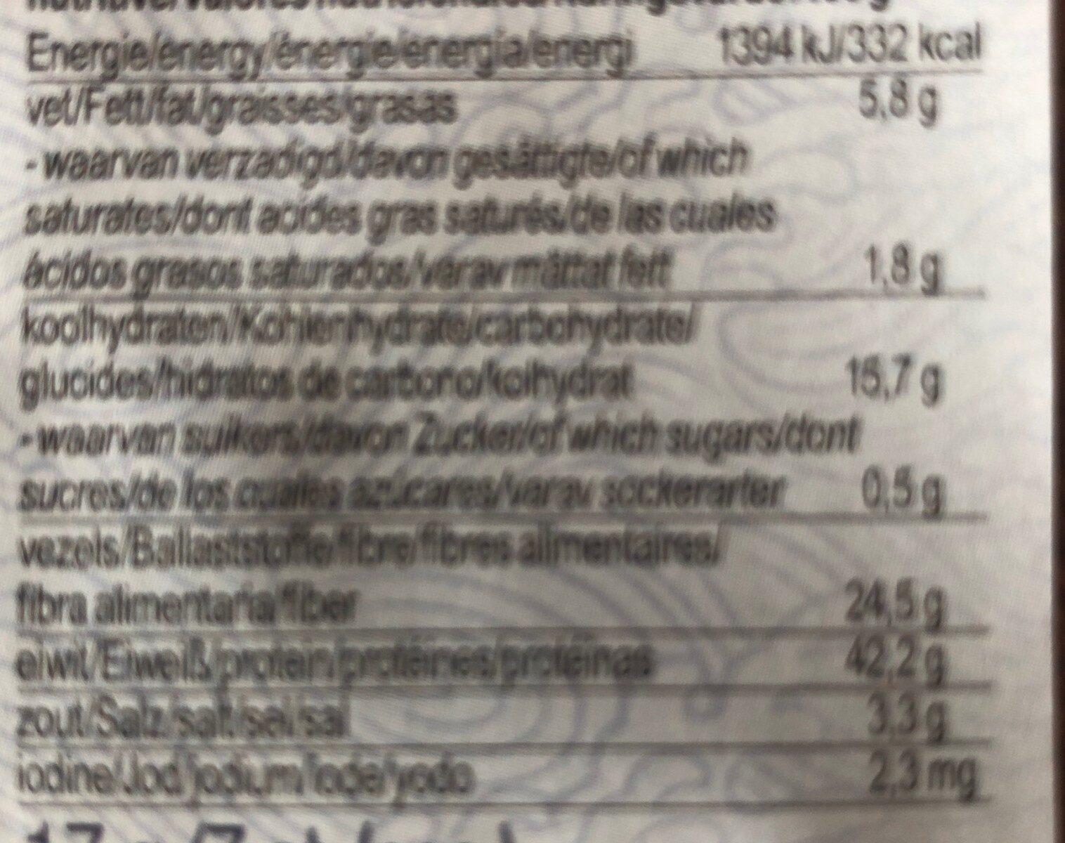 Sushi nori - Voedingswaarden - nl
