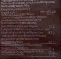 Black Sesame Crackers - Voedingswaarden - en