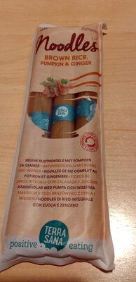 Brown rice, pumpkin and ginger noodles - Product - en