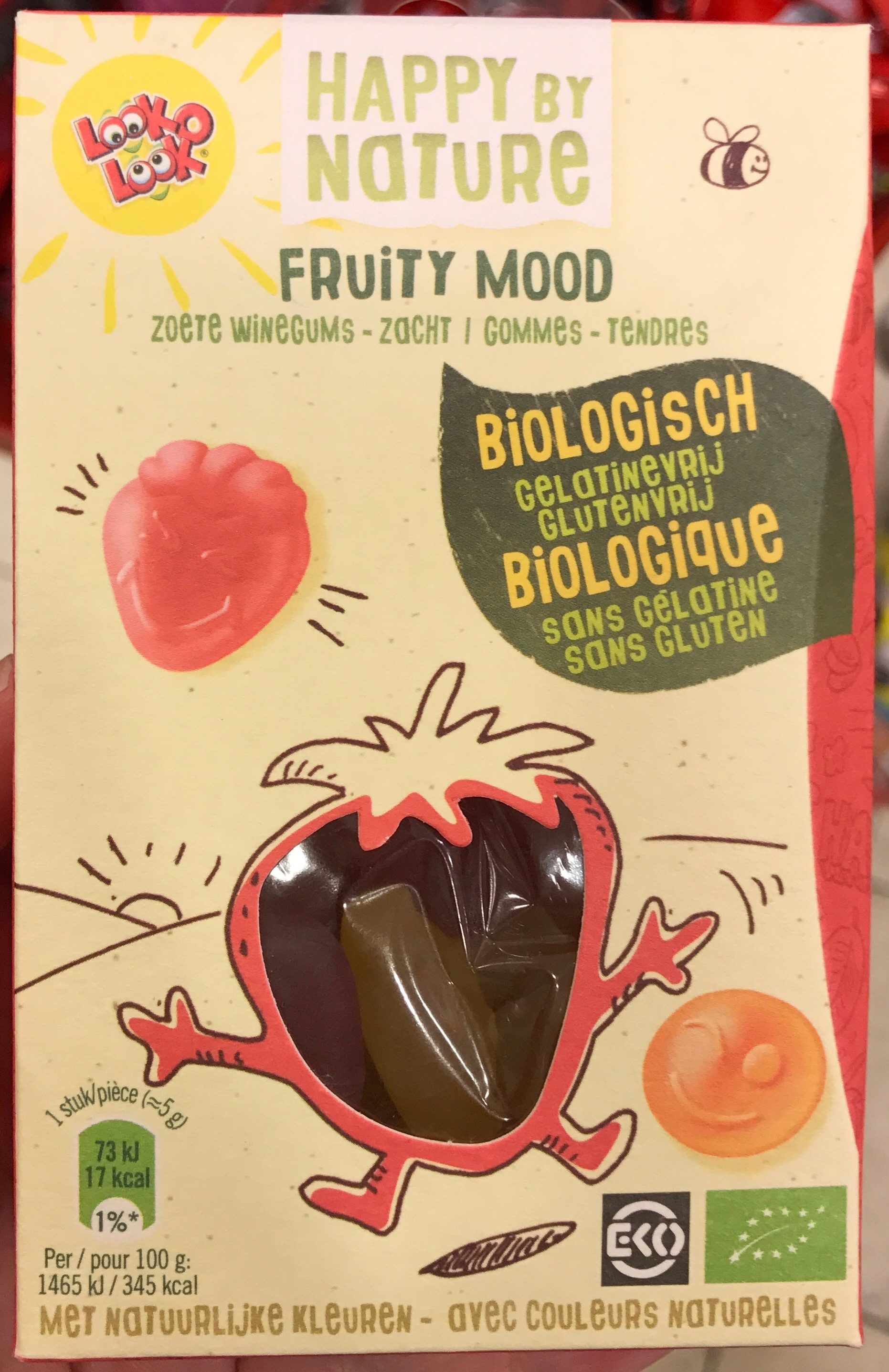 Happy by Nature Fruity Mood Gommes tendres - Product - fr