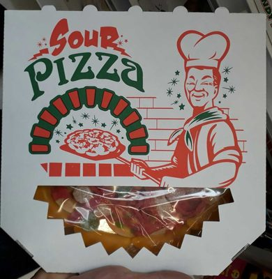 Look-o-look Candy-pizza Sour - Produit - fr
