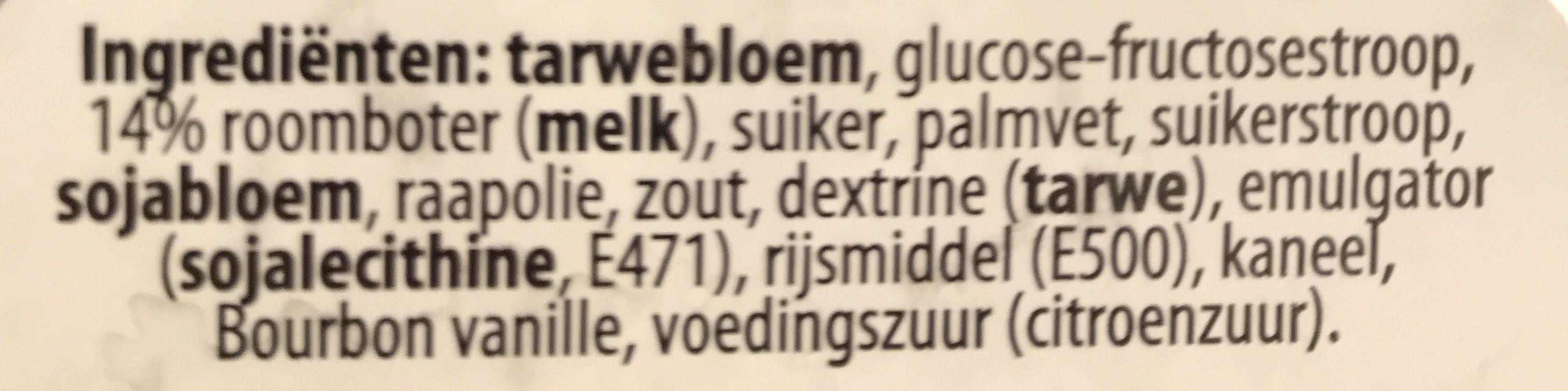 """Daelman's Caramel Wafers """"Stroopwafels"""" Orange Tin 8.11 Oz [pack Of - Ingrediënten - nl"""