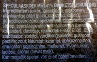 Gevulde speculaas - Ingrediënten - nl