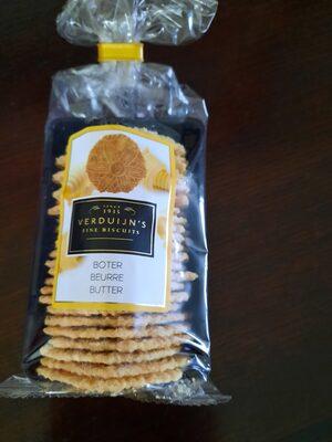 verduijn´s fine biscuits - Ingredients - nl