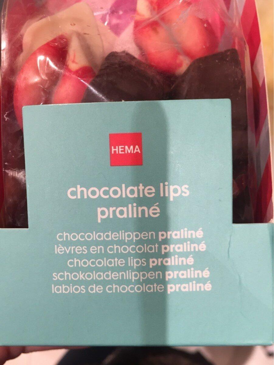 Chocolat lips praline - Product - fr